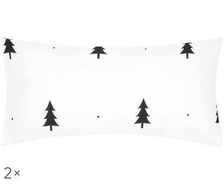Flanelová obliečka na vankúš X-mas Tree, 2 ks