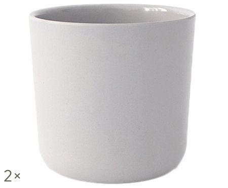 Set tazze senza manico in bambù Bambino 2 pz