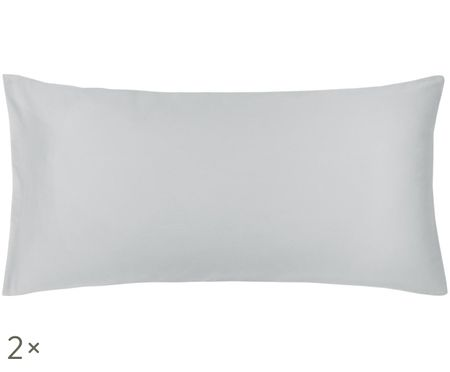 Obojstranná obliečka na vankúš z bavlneného saténu Julia, 2 ks