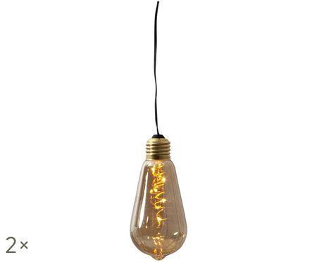 Lampa dekoracyjna z funkcją timera Glow, 2szt.