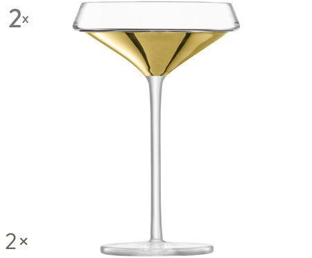 Kieliszek do szampana ze szkła dmuchanego Space, 2 szt.