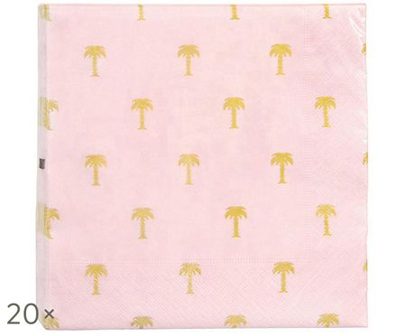 Serviettes en papier Palmtree, 20 pièces