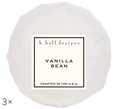 Kula do kąpieli Vanilla Bean, 3 szt. (wanilia i tonkowiec wonny)