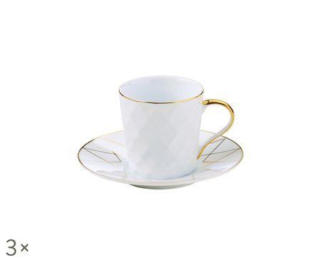 Service de tasses à espresso Lux, 6élém.