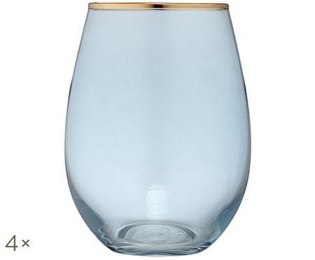 Bicchiere per l'acqua Chloe, 4 pz.