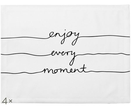 Tovaglietta Enjoy every Moment, 4 pz.