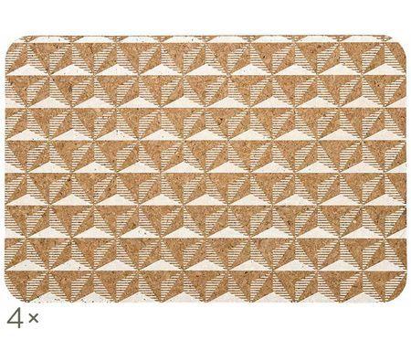 Tischsets Illusion aus Kork, 4 Stück