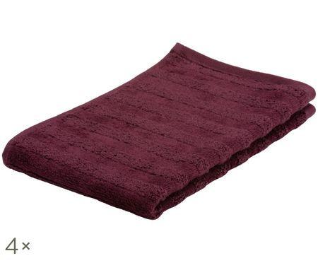 Asciugamano per ospiti Line, 4 pz.
