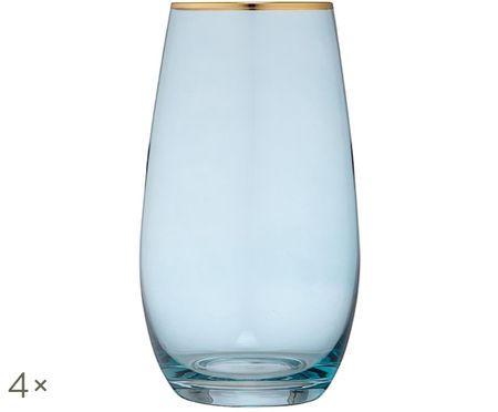 Szklanka do wody Chloe, 4 szt.