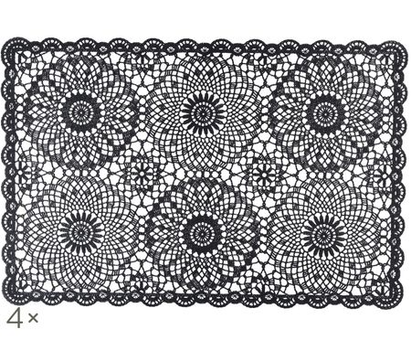 Tovaglietta Crochet, 4 pz.