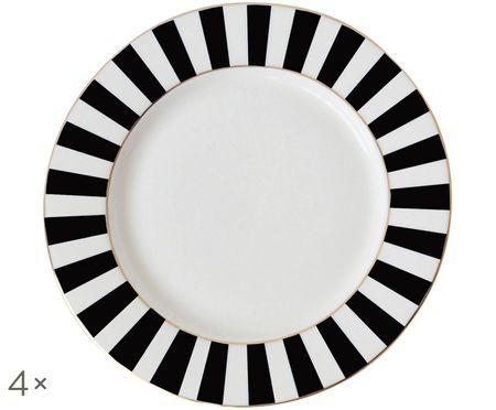 Talerz śniadaniowy Stripy