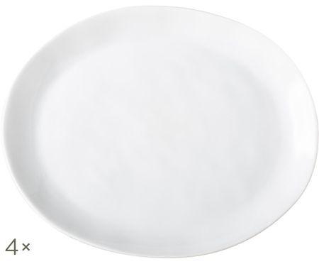 Assiettes à dessert Porcelino, 4pièces