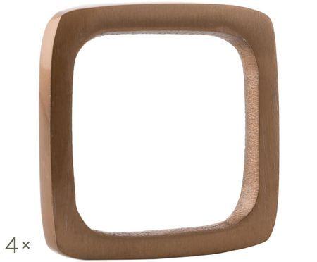 Ronds de serviette de table Squark, 4 pièces