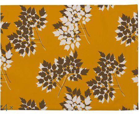 Tischsets Autumn Leaves, 4 Stück