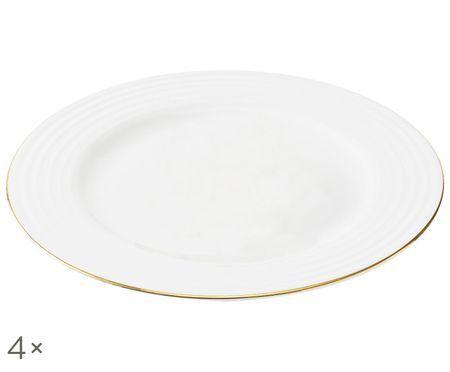Ontbijtbord Cobald, 4 stuks