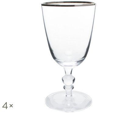 Pohár na biele víno Willow, 4 ks