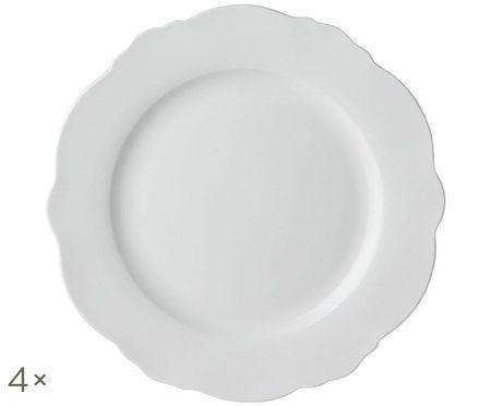 Ontbijtborden Muschel Loft, 4 stuks