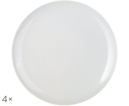 Dinerborden Bisque, 4 stuks