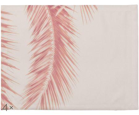 Tischsets Palm Leaves, 4 Stück