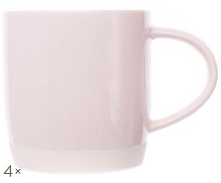 Ręcznie wykonana filiżanka do kawy Bisque, 4 szt.