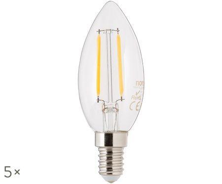Ampoules LED Vel (E14-2W) 5 pièces