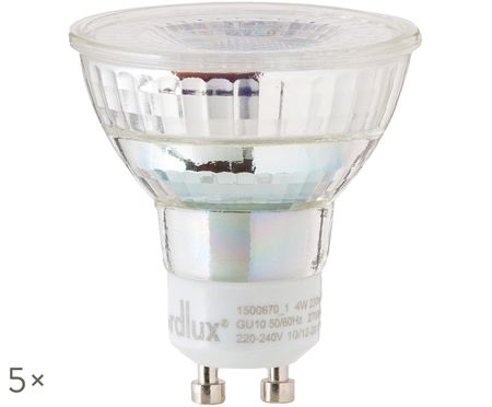 Ampoules à LED Ferre (GU10-4W) 5 pièces