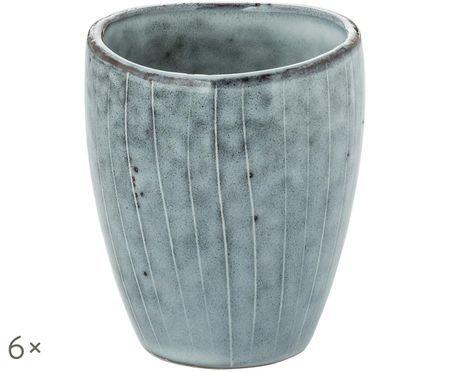 Mugs faits à la main Nordic Sea, 6pièces