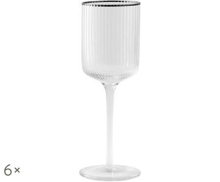 Bicchieri di vino bianco Rilly, 6 pz.