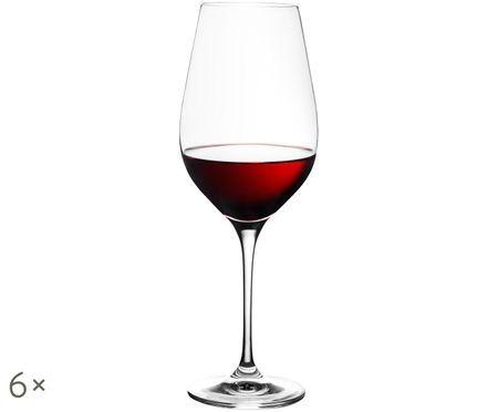 Křišťálová sklenice na červené víno Harmony, 6 ks