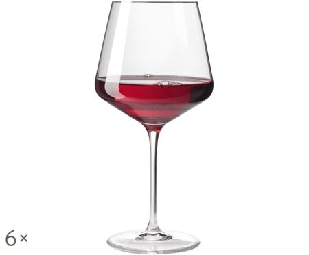 Bicchieri da vino rosso Burgunder Puccini, 6 pz.