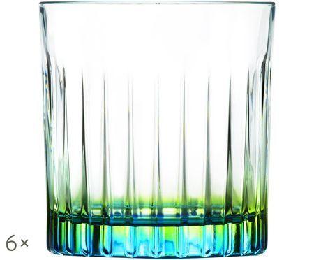 Verres à cocktailen cristalGipsy, 6pièces