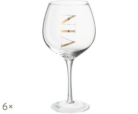 Set bicchieri da vino, 6 pz.