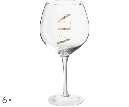 Copas de vino Vin, 6uds.