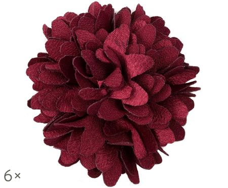 Deko-Blumen Flor, 6 Stück