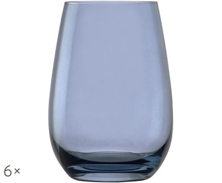 Vasos de cristal Elements Clear, 6 uds.