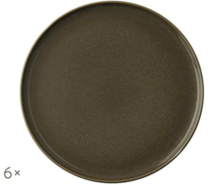 Assiettes à dessert Kolibri, 6 pièces