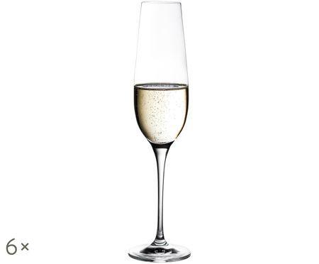 Bicchiere da champagne in cristallo Harmony, 6 pz.