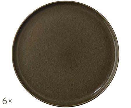 Assiettes plates Kolibri, 6pièces