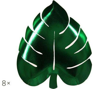 Talerz z papieru Palm Leaf, 8 szt.