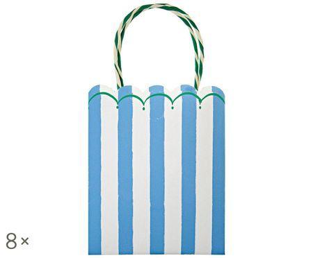 Geschenktüte Stripes, 8 Stück