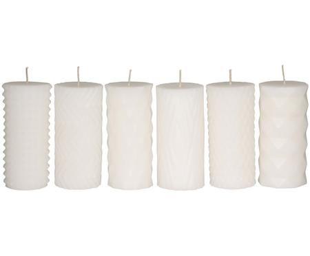 Set candele cilindriche Mix Rhomb, 6 pz