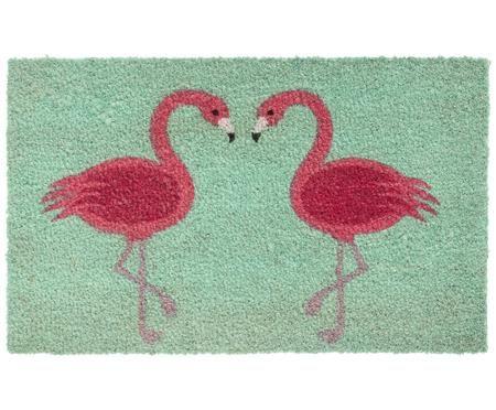 Deurmat Flamingos