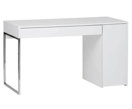 Bílý psací stůl Tiago