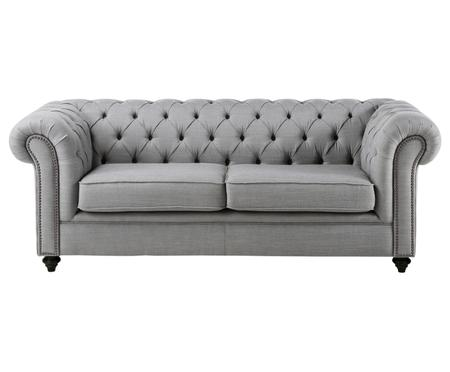 Chesterfield Sofa James (3-Sitzer)