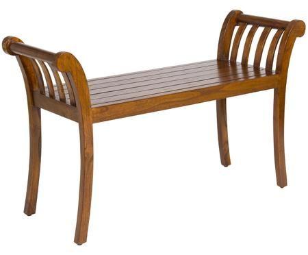 Sitzbank Corwin aus Akazienholz