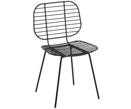 Design-Stuhl Chloé aus Metall