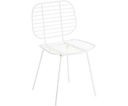 Dizajnová kovová stolička Chloé