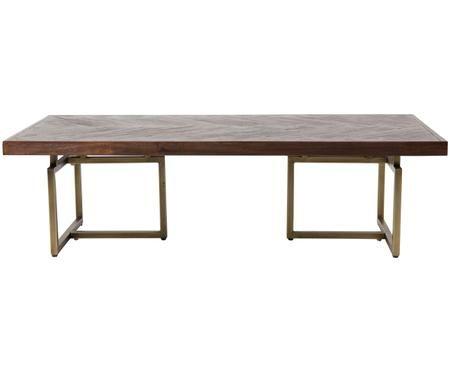 Konferenční stolek sdýhou zakátového dřeva Class