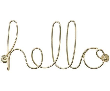 Nástenná dekorácia Hello