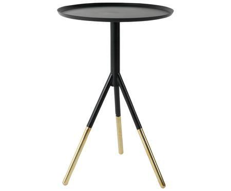 Tavolino rotondo in metallo Elia